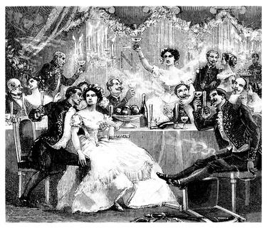 Stich, Abbildung, engraving, gravure : 1880
