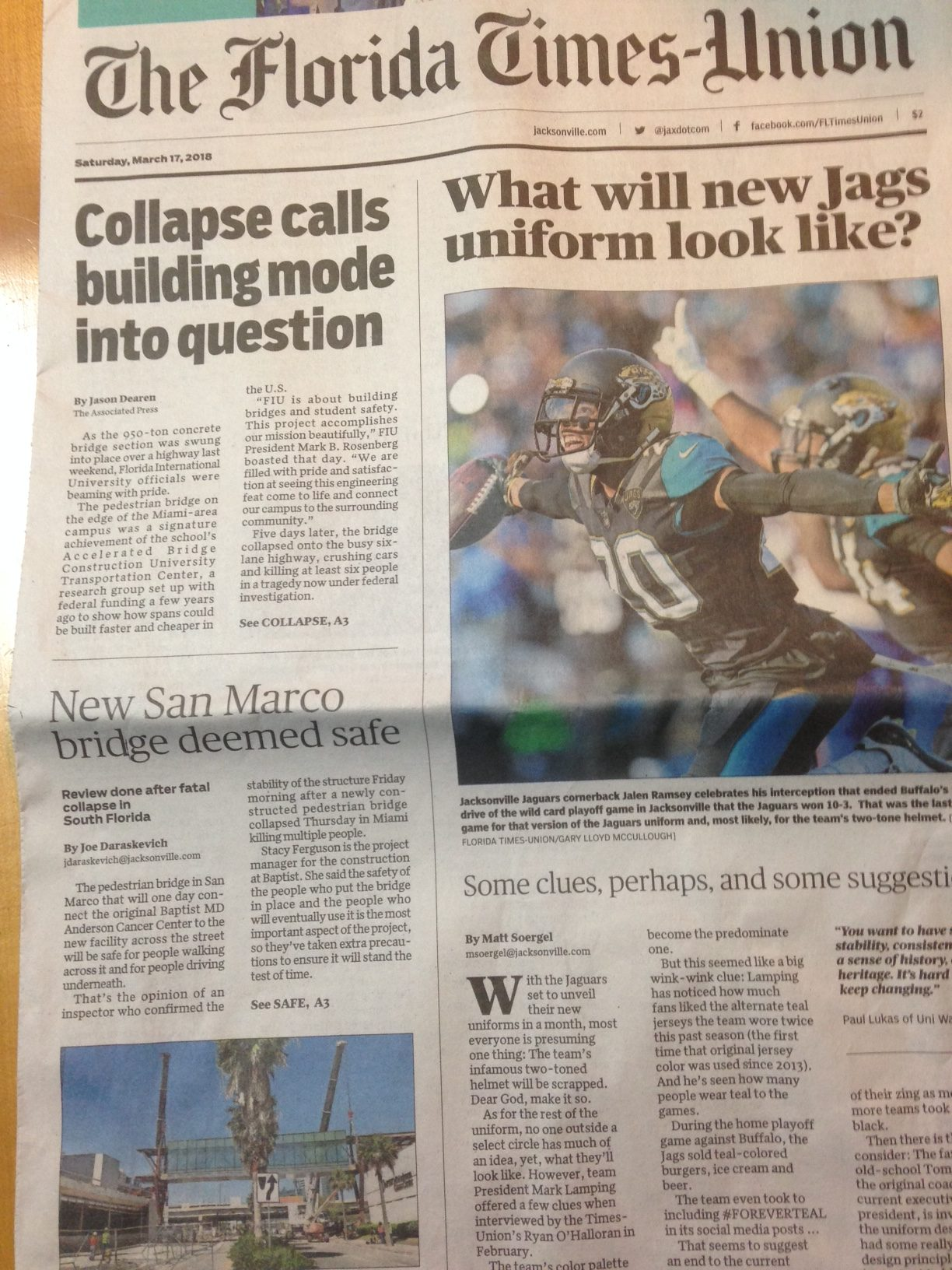 The Times-Union Lays Another Editorial Egg Inspiring The Jaguars PR Staff To Celebrate