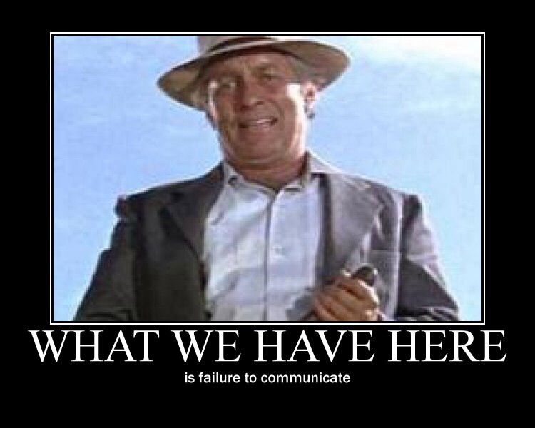 """Movie's """"What We Have Here Is Failure To Communicate"""" Message Now A Social Issue"""