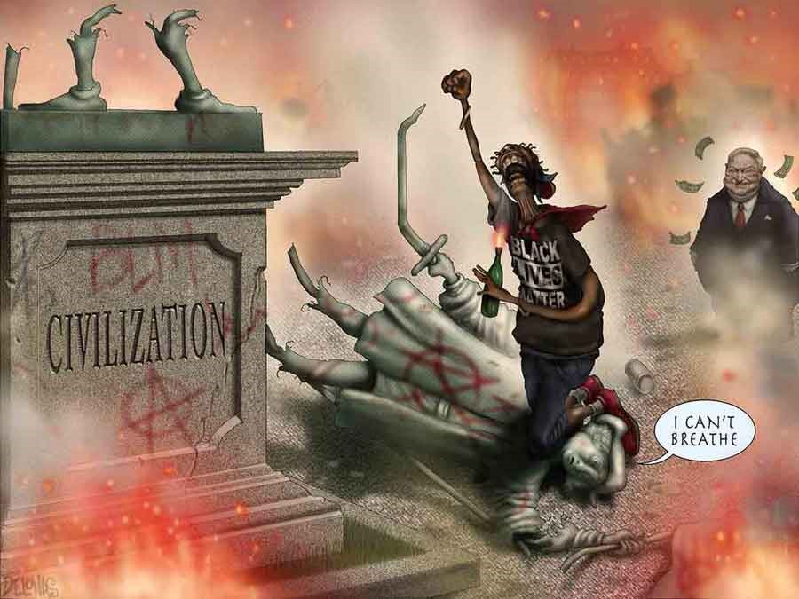 If You Enjoy Looting, Rioting, Arson & Killings Then Vote For A Democrat On November 3rd