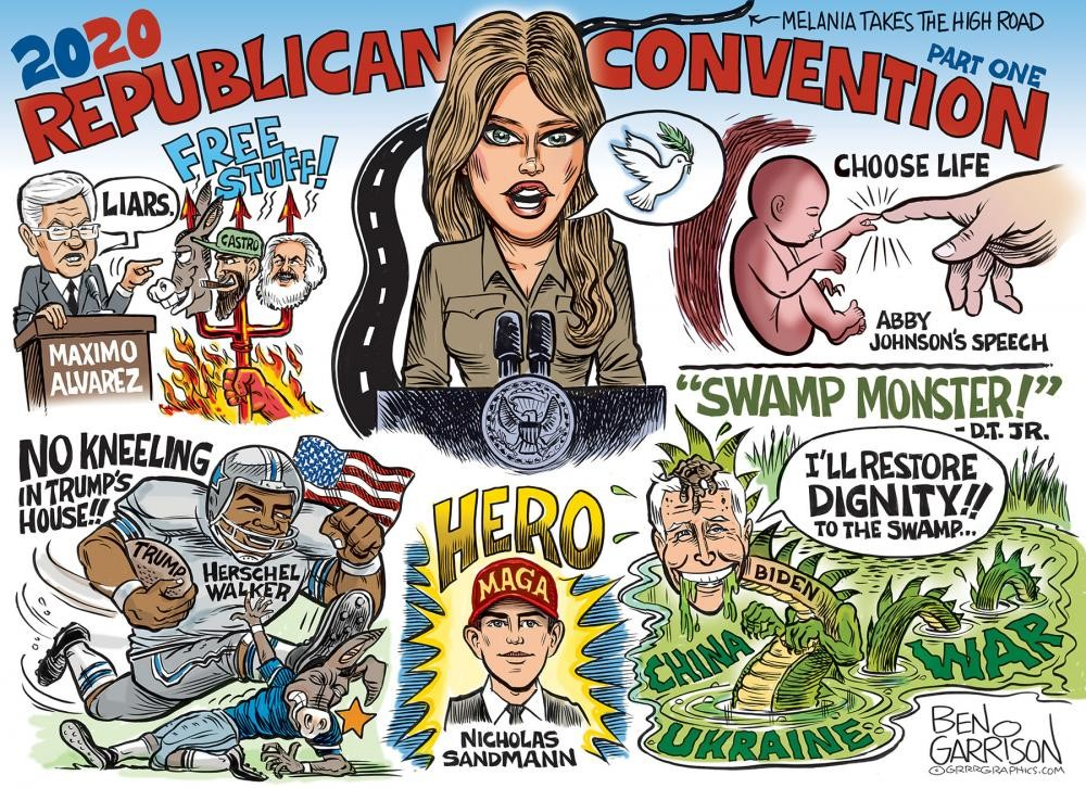 Conventions Provide Two Contrasting Views – GOP: Hope & Optimism; Dems: Gloom & Doom